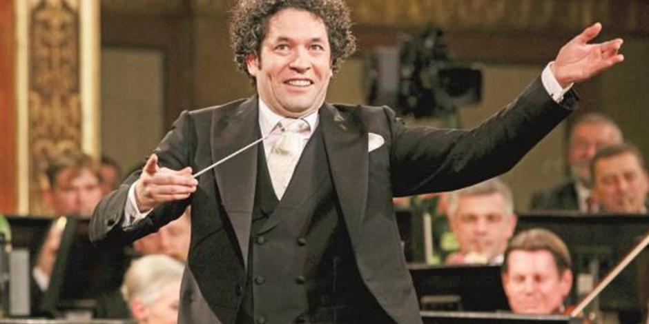 Intensa actividad musical brindaron la Orquesta Filarmónica de Viena y Gustavo Dudamel en México