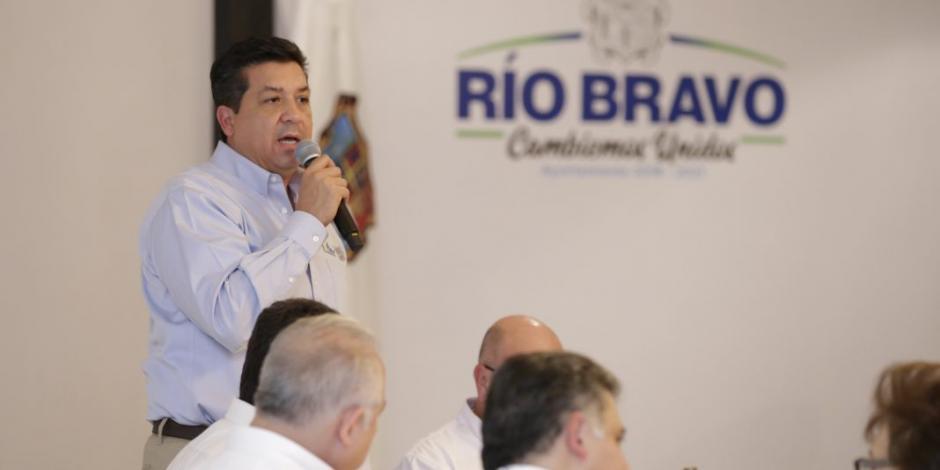 Refrenda Gobernador compromiso con familias y gobierno de Río Bravo