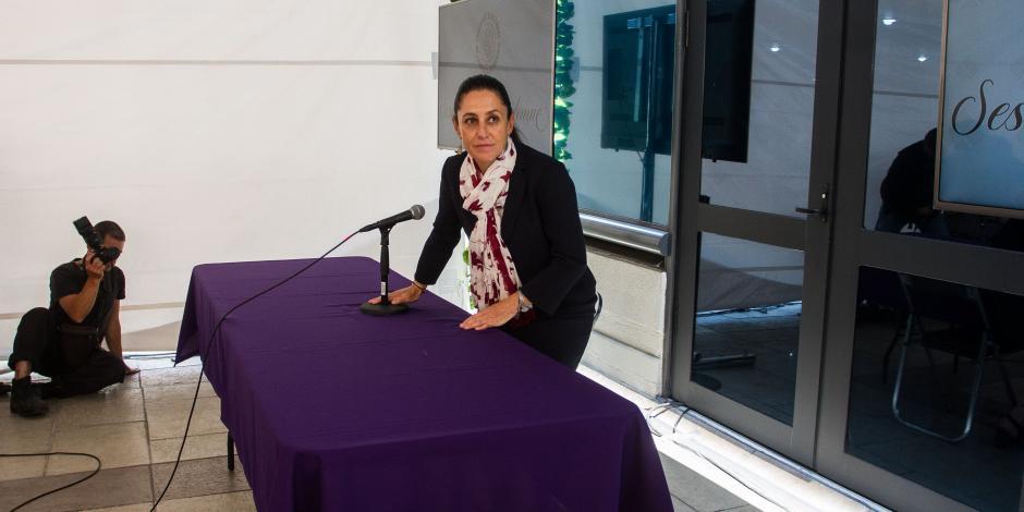 Sheinbaum impartirá clases en secundarias públicas sobre paz e inclusión