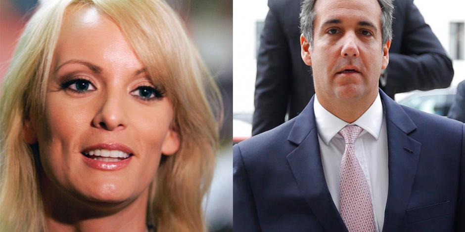 Actriz porno demanda a abogado personal de Trump por difamación