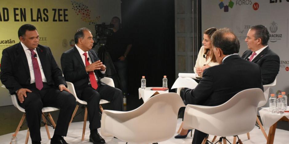 ZEE Lázaro Cárdenas-La Unión, atractiva al comercio internacional, destaca Astudillo