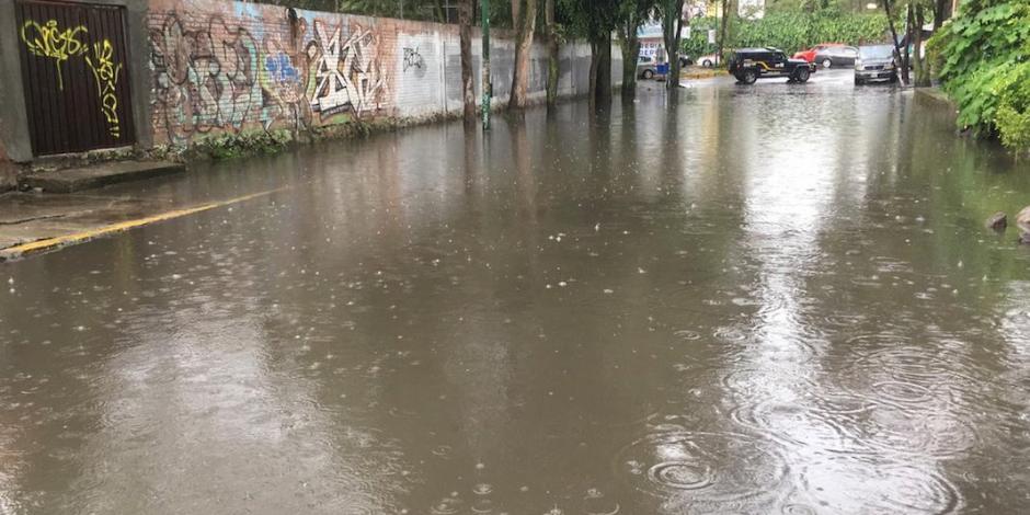 Lluvias dejan inundaciones en el sur