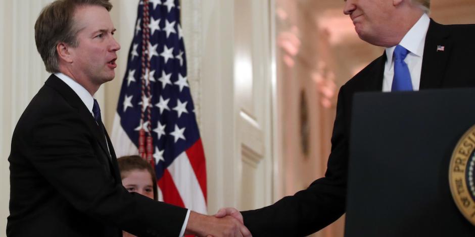 Apuesta Trump por Kavanaugh para viraje conservador a Corte Suprema