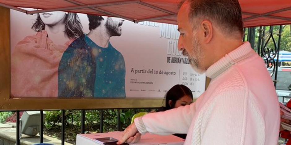 José Antonio Meade participa en consulta sobre NAIM
