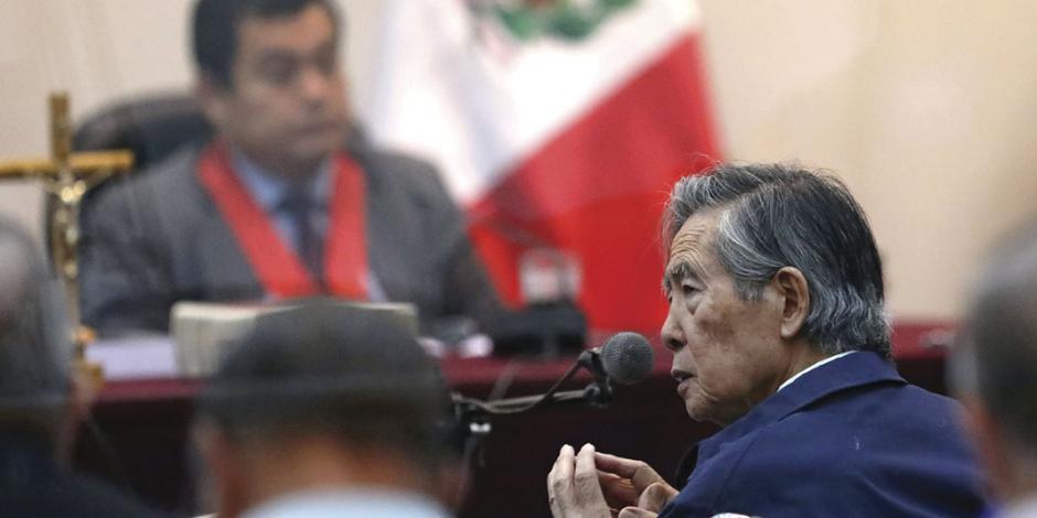 Ya sin perdón, ordenan reencarcelar a Fujimori