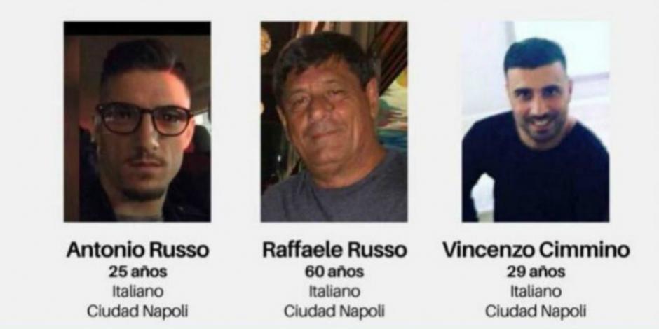 Solicita CIDH a México agilizar búsqueda de italianos desaparecidos