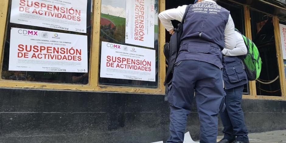 Verifican en Benito Juárez más de 2 mil establecimientos mercantiles