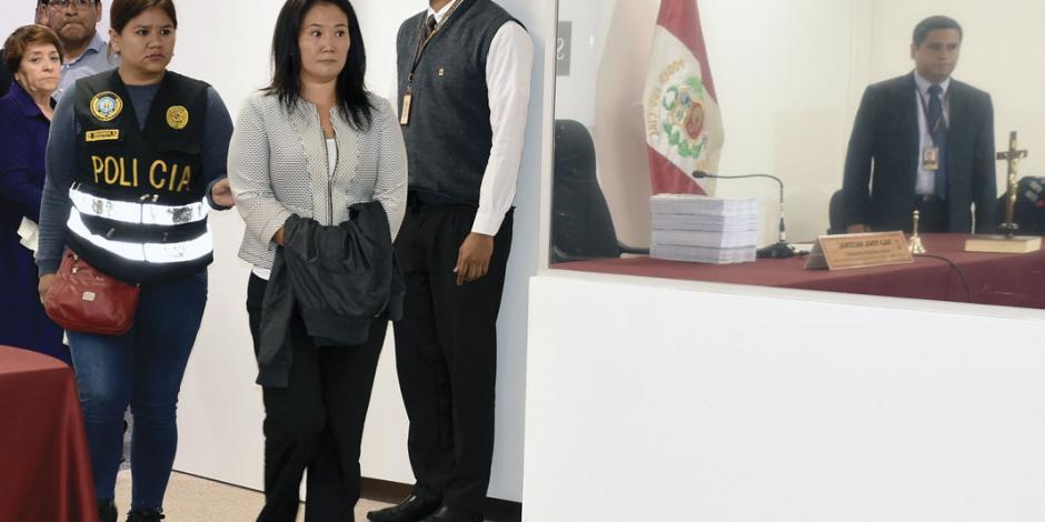 Ahora el gobierno captura a la hija de Fujimori por lavado de dinero