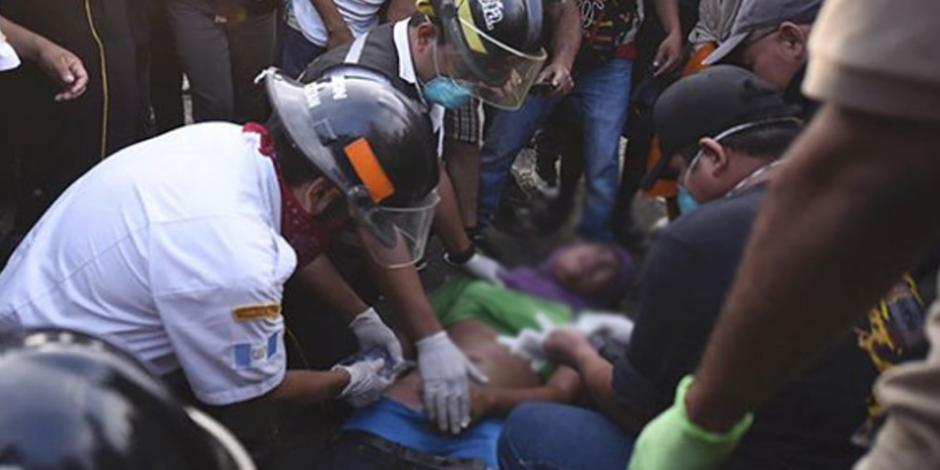 Muere migrante hondureño en disturbios en frontera de Guatemala