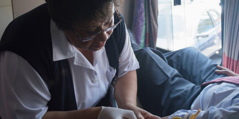 Enfermeras, parte fundamental del cuidado de la población, destaca Salud