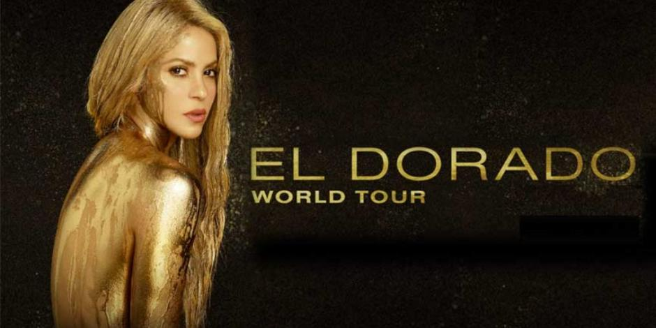 Shakira regresa a México en octubre con El Dorado World Tour