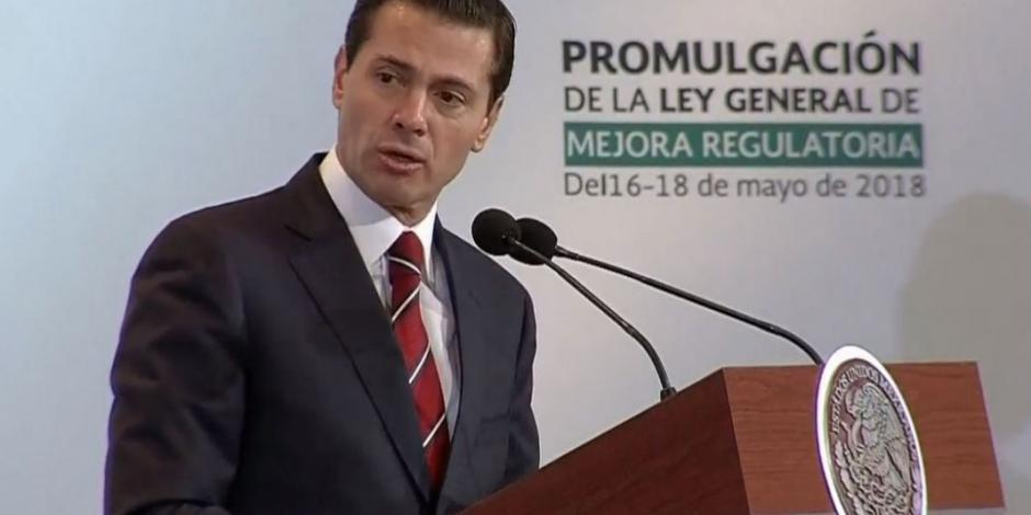 Corrupción no desaparece con buenos deseos, asegura EPN