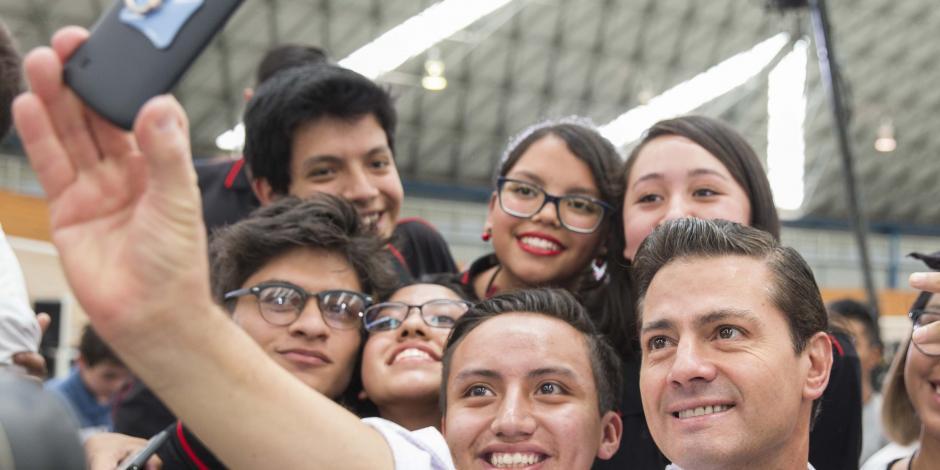 El México que queremos se construye entre todos cada día: EPN