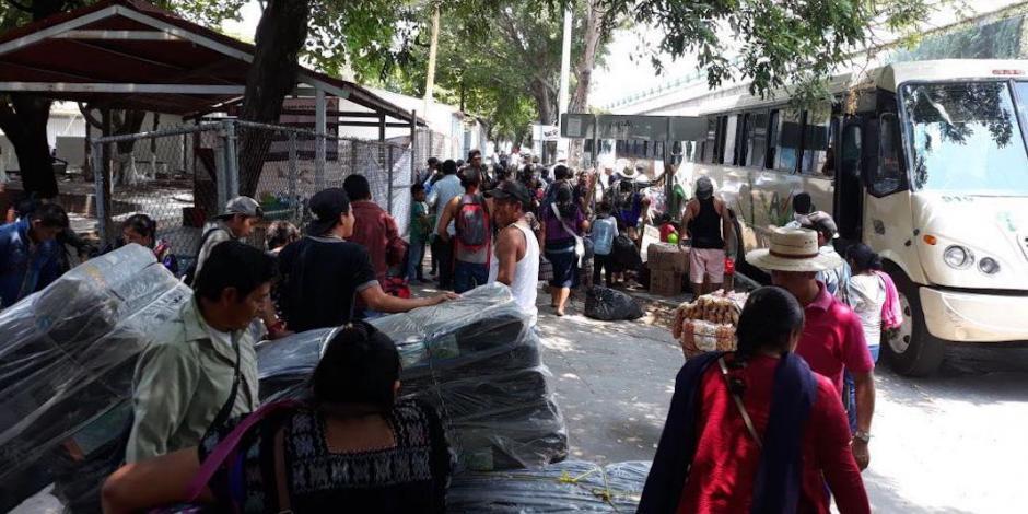Chiapas prioriza seguridad de personas desplazadas