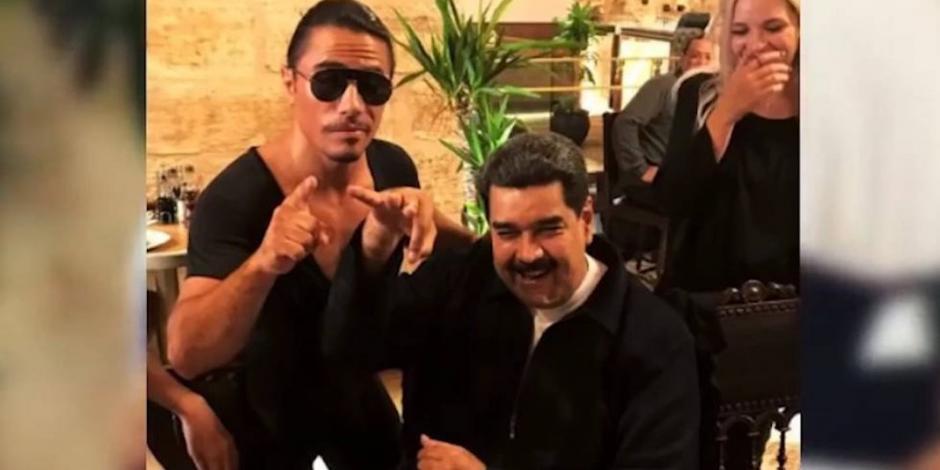 Con caricaturas, venezolanos muestran rabia contra Maduro