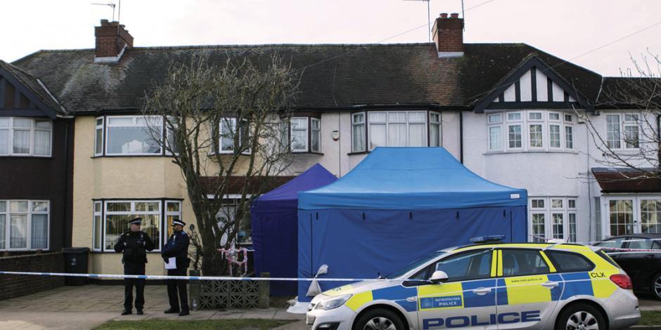 Indaga Scotland Yard muerte de un exiliado ruso