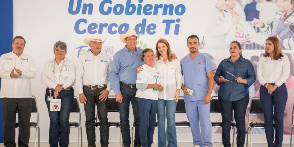 Llevan Gobierno de Tamaulipas y DIF servicios a Gómez Farías