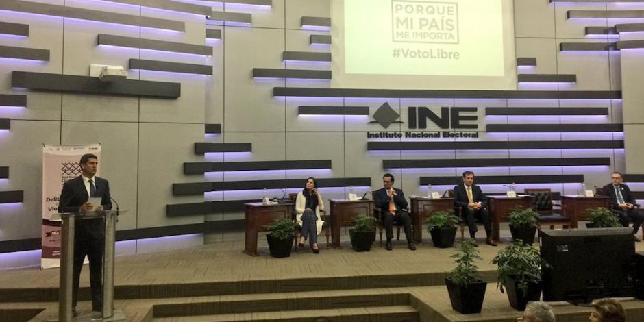Exhortan INE, PGR y Fepade a evitar violencia y confrontaciónen campañas