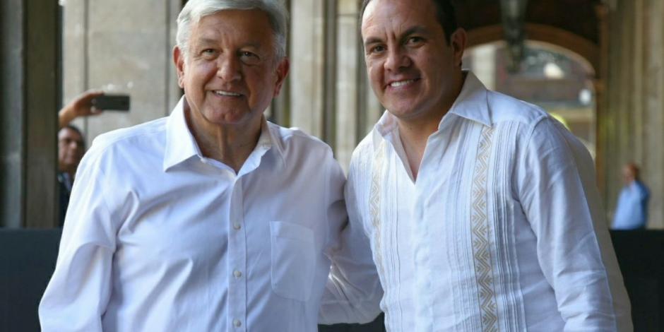López Obrador se reúne con Cuauhtémoc Blanco