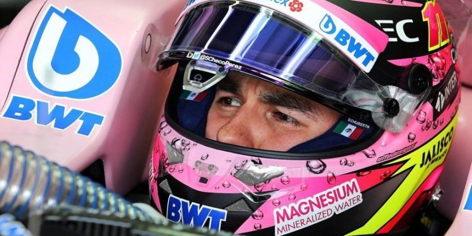 Checo Pérez iniciará en lugar 15 en el Gran Premio de España