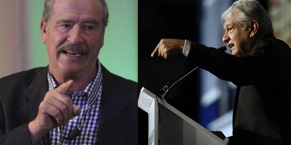 AMLO, dictador en potencia, afirma Fox