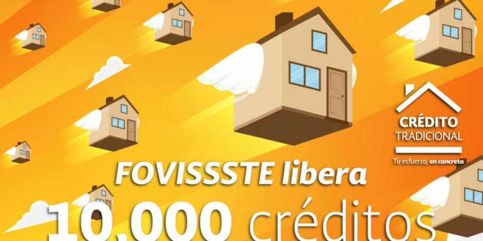 Aprueba FOVISSSTE 10 mil créditos tradicionales