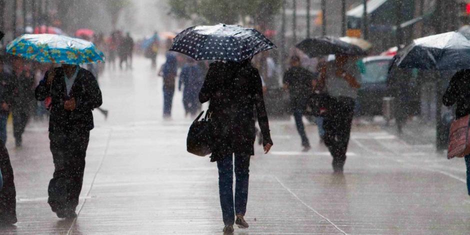 Primer frente frío ocasionará tormentas con lluvias en el país