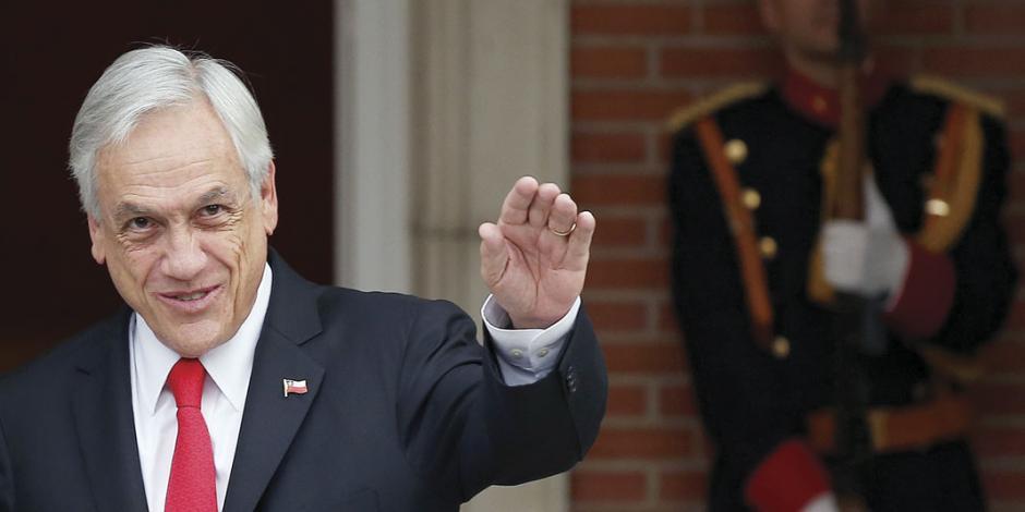 Presidente chileno elogia plan económico de Bolsonaro