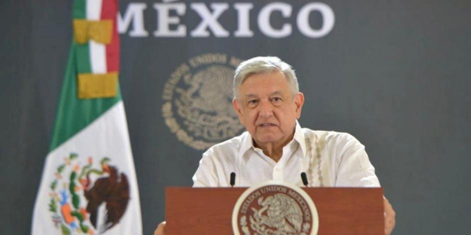 El Presidente López Obrador en Isla Mujeres, QRoo
