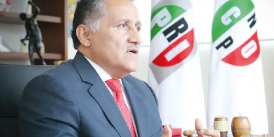 """""""Asamblea del PRI no planchará  estatutos para ningún candidato"""""""