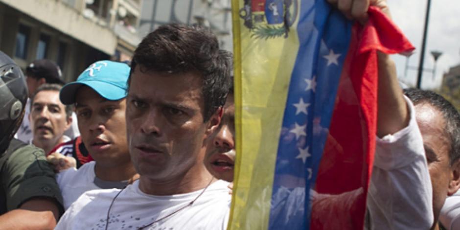 Oposición propone a Leopoldo López como su candidato a la presidencia de Venezuela