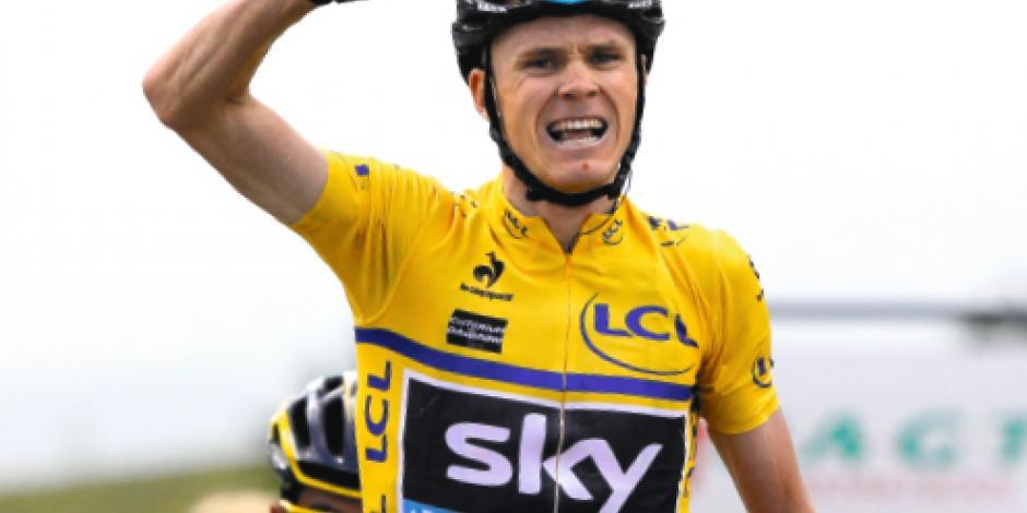 Froome es campeón del Tour de Francia por cuarta ocasión