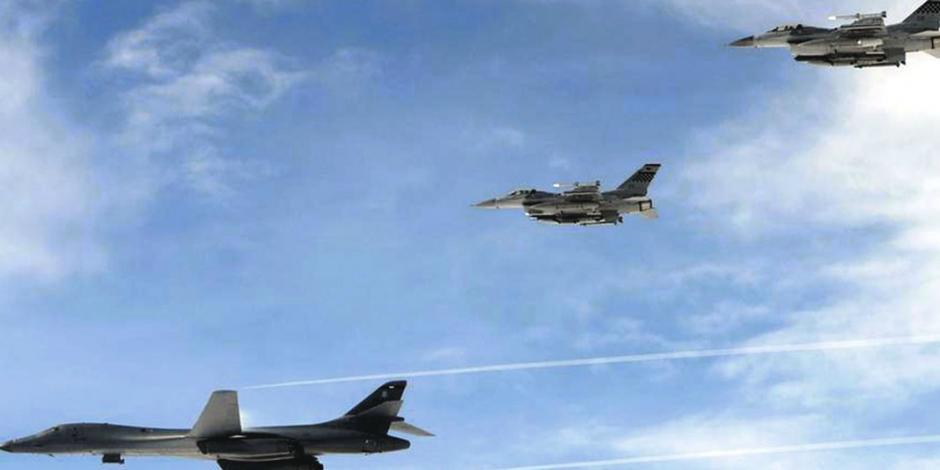 Pyongyang moviliza aviones y EU mantiene su opción militar