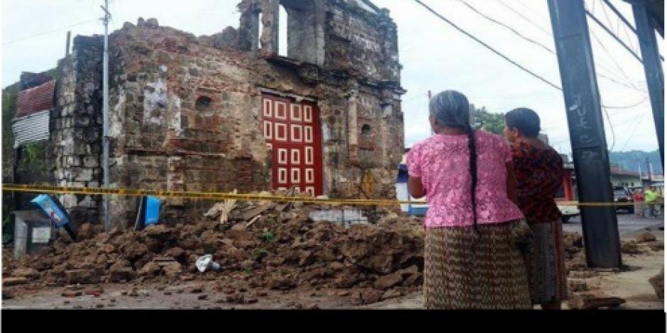 Tras sismo en Guatemala, daños leves y ninguna víctima