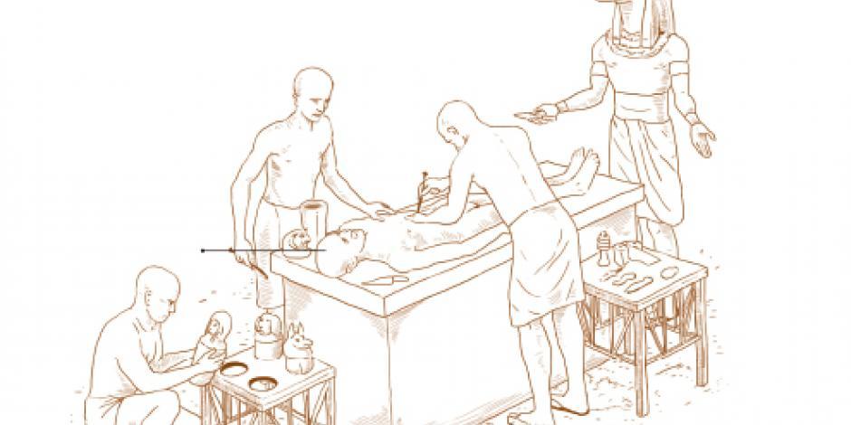 Por azar, descubren sepulcro faraónico de 65 toneladas