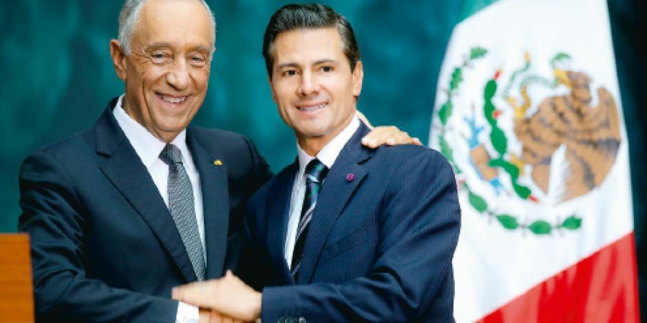 EPN acuerda con Portugal ampliar inversión en México
