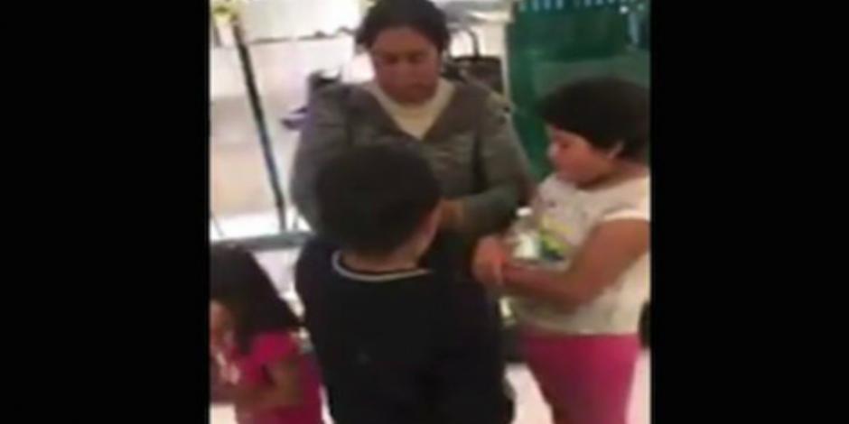 VIDEO: Denuncian presunta discriminación en Palacio de Hierro