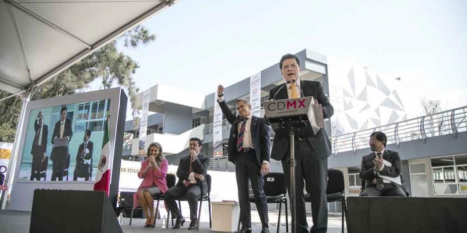Abre Gobierno de la CDMX universidad con aval de la UNAM
