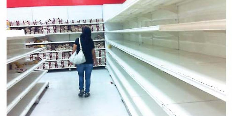 Congreso de Venezuela declara crisis alimentaria