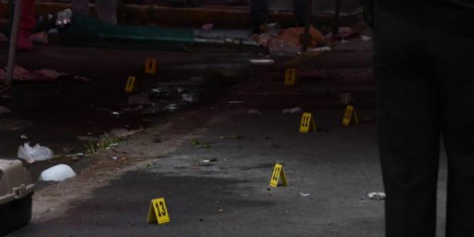 Matan de 12 disparos a vigilante de tianguis en la GAM