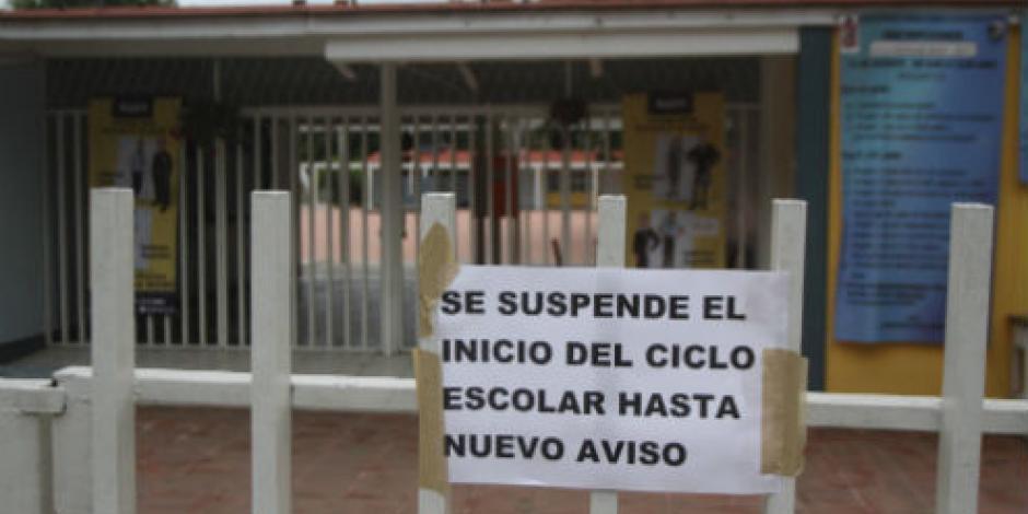 CNTE deja sin inicio de ciclo a 1.3 millones de alumnos en Oaxaca