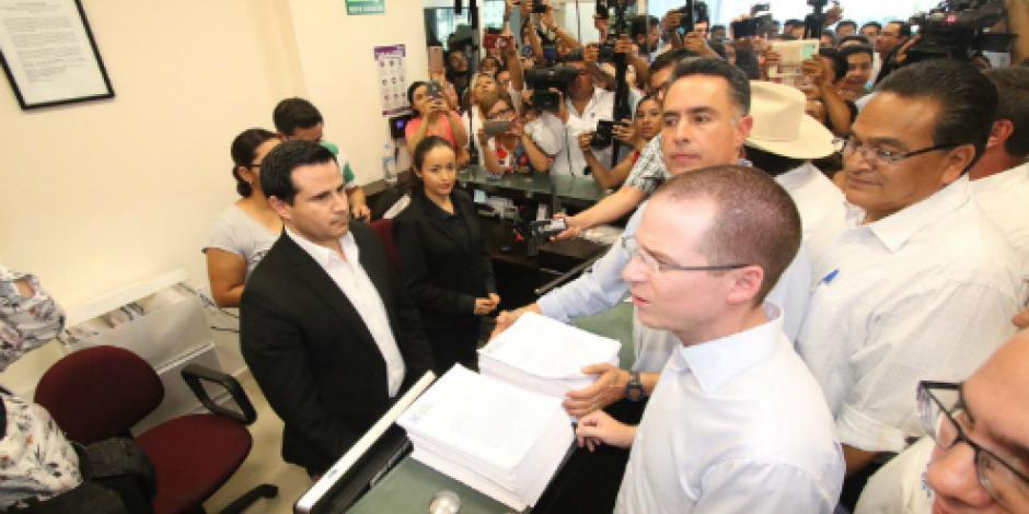 Reitera Anaya que candidato del PRI en Coahuila rebasó topes de campaña