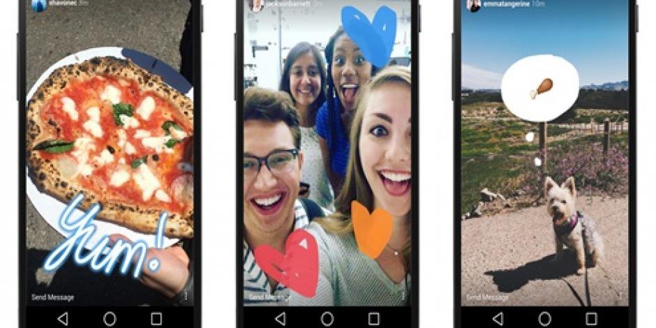 Cumple primer aniversario de Instagram Stories