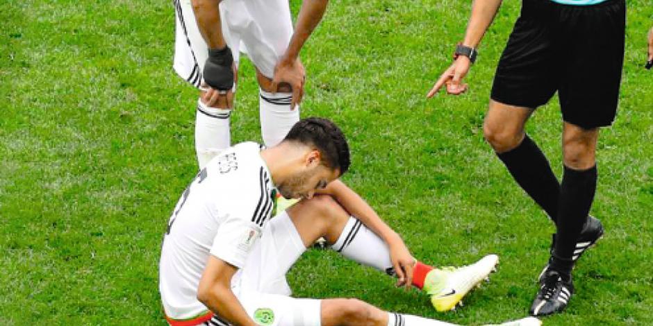 Reyes libra rotaciones, pero queda fuera por una lesión