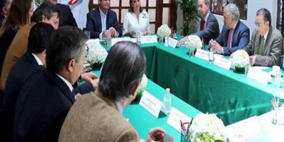 El PRI sólo busca alianza con la ciudadanía, asegura Enrique Ochoa