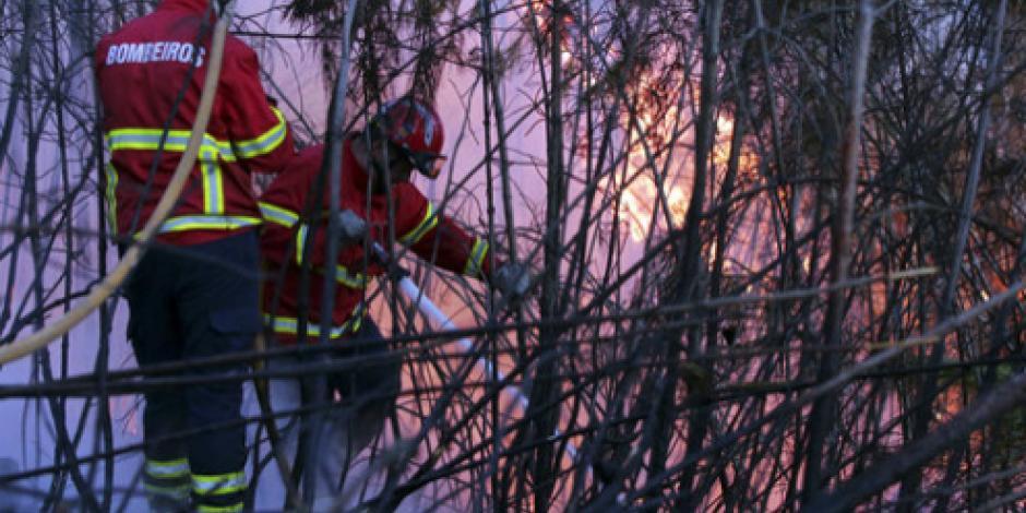 Combaten 3 mil bomberos incendios en Portugal