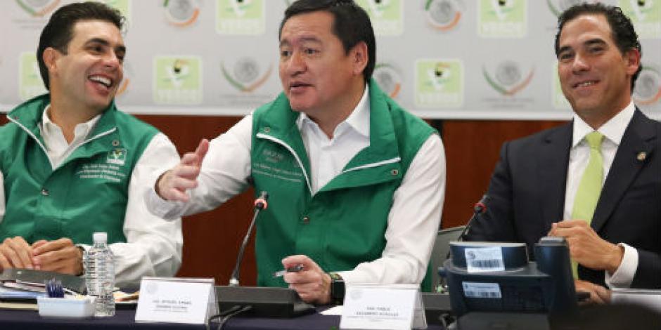 Servir de la mejor forma al país, fundamental para el Gobierno Federal, afirma Osorio Chong