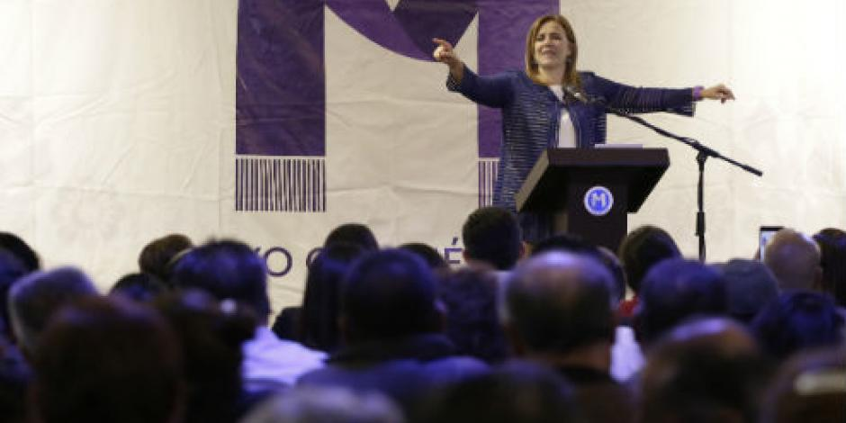 Rechaza INE otra queja contra Margarita Zavala