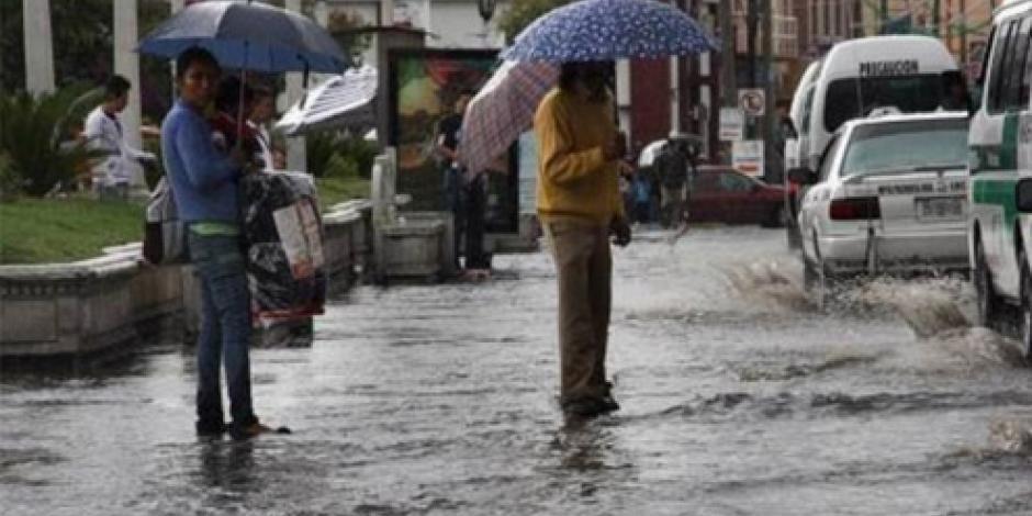 Prevén tormentas intensas en el sureste del país