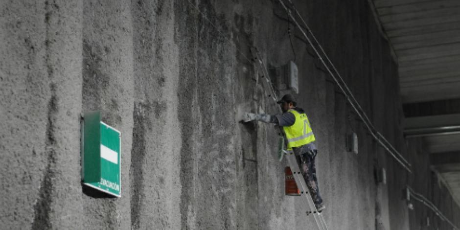 Descartan que Túnel Mixcoac esté listo para el 10 de agosto